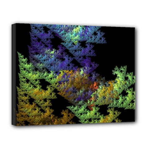 Fractal Forest Canvas 14  X 11