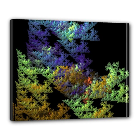 Fractal Forest Canvas 20  X 16