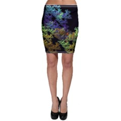 Fractal Forest Bodycon Skirt