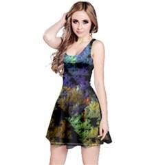 Fractal Forest Reversible Sleeveless Dress