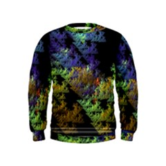 Fractal Forest Kids  Sweatshirt