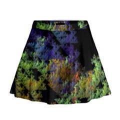 Fractal Forest Mini Flare Skirt