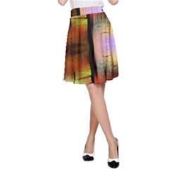 Fractal Tiles A Line Skirt