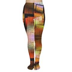 Fractal Tiles Women s Tights