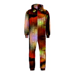 Fractal Tiles Hooded Jumpsuit (kids)