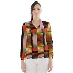 Fractal Tiles Wind Breaker (Women)