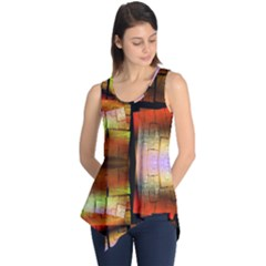 Fractal Tiles Sleeveless Tunic