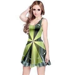 Fractal Ball Reversible Sleeveless Dress