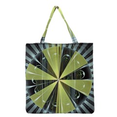 Fractal Ball Grocery Tote Bag