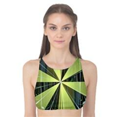 Fractal Ball Tank Bikini Top