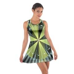 Fractal Ball Cotton Racerback Dress