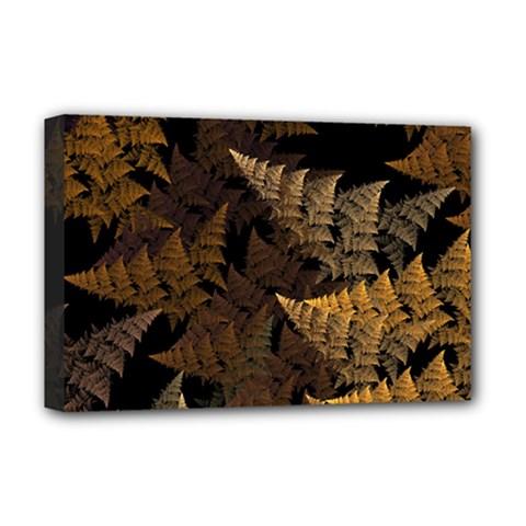 Fractal Fern Deluxe Canvas 18  x 12