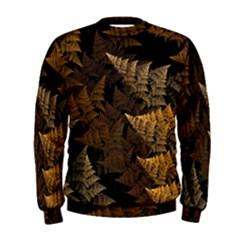 Fractal Fern Men s Sweatshirt