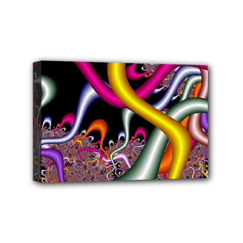 Fractal Roots Mini Canvas 6  x 4