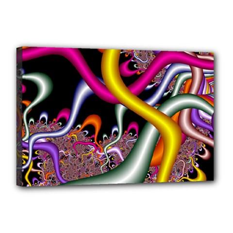 Fractal Roots Canvas 18  x 12