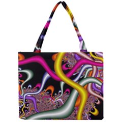 Fractal Roots Mini Tote Bag