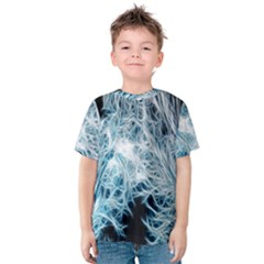 Fractal Forest Kids  Cotton Tee