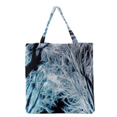 Fractal Forest Grocery Tote Bag