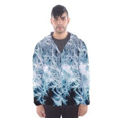 Fractal Forest Hooded Wind Breaker (Men)