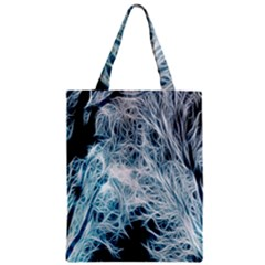 Fractal Forest Zipper Classic Tote Bag