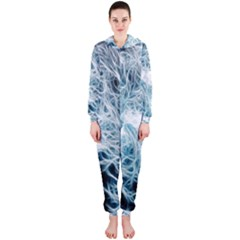 Fractal Forest Hooded Jumpsuit (Ladies)