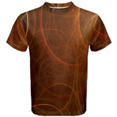 Fractal Color Lines Men s Cotton Tee