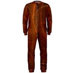Fractal Color Lines OnePiece Jumpsuit (Men)