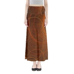 Fractal Color Lines Maxi Skirts