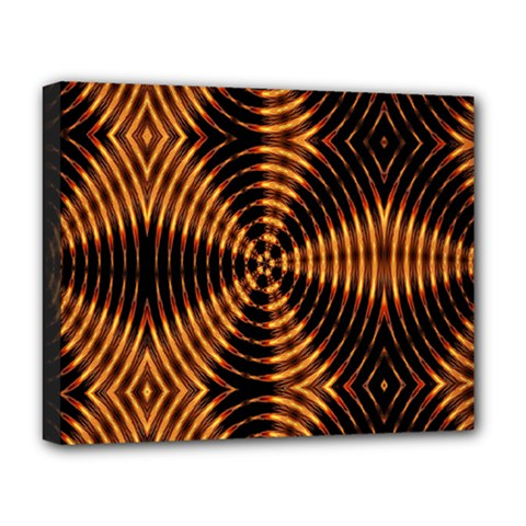 Fractal Patterns Deluxe Canvas 20  x 16