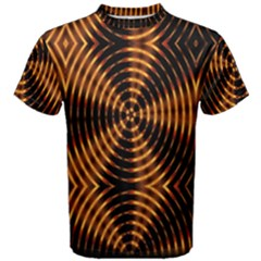 Fractal Patterns Men s Cotton Tee