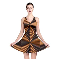 Fractal Patterns Reversible Skater Dress