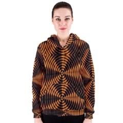 Fractal Patterns Women s Zipper Hoodie