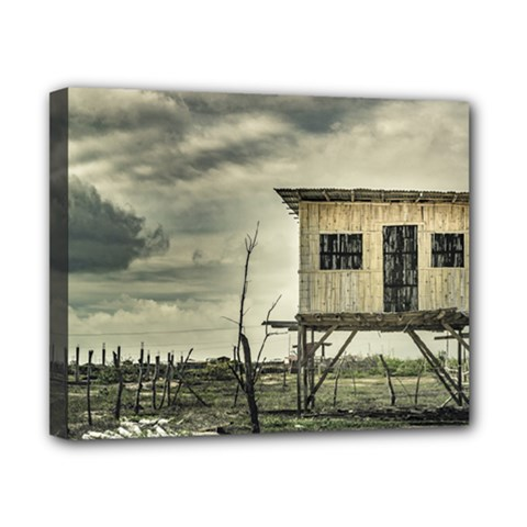 Traditional Cane House At Guayas District Ecuador Canvas 10  x 8