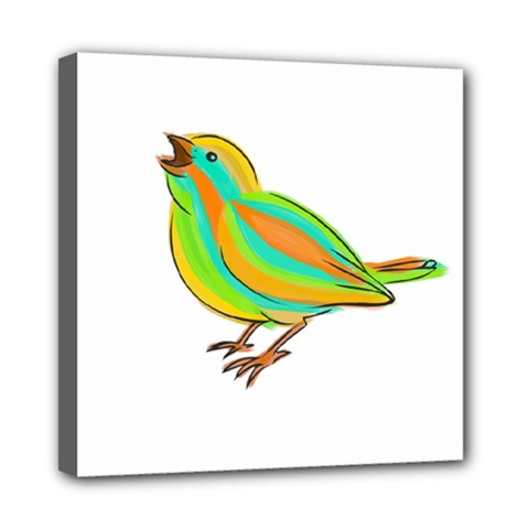Bird Mini Canvas 8  x 8