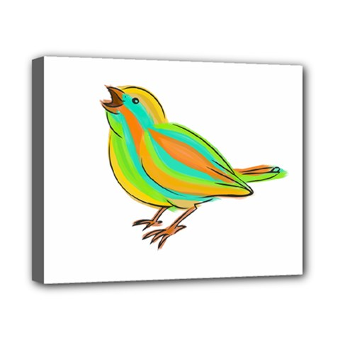 Bird Canvas 10  x 8