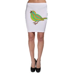 Bird Bodycon Skirt