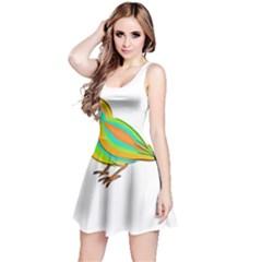 Bird Reversible Sleeveless Dress