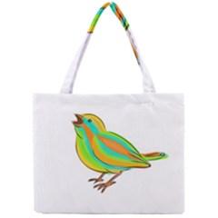 Bird Mini Tote Bag