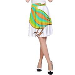 Bird A-Line Skirt