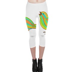 Bird Capri Leggings