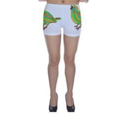 Bird Skinny Shorts