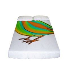 Bird Fitted Sheet (Full/ Double Size)