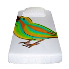 Bird Fitted Sheet (Single Size)