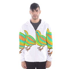 Bird Hooded Wind Breaker (Men)