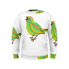 Bird Kids  Sweatshirt
