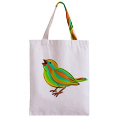 Bird Zipper Classic Tote Bag