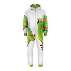 Bird Hooded Jumpsuit (Kids)