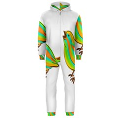 Bird Hooded Jumpsuit (Men)