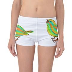 Bird Boyleg Bikini Bottoms