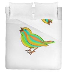 Bird Duvet Cover Double Side (Queen Size)